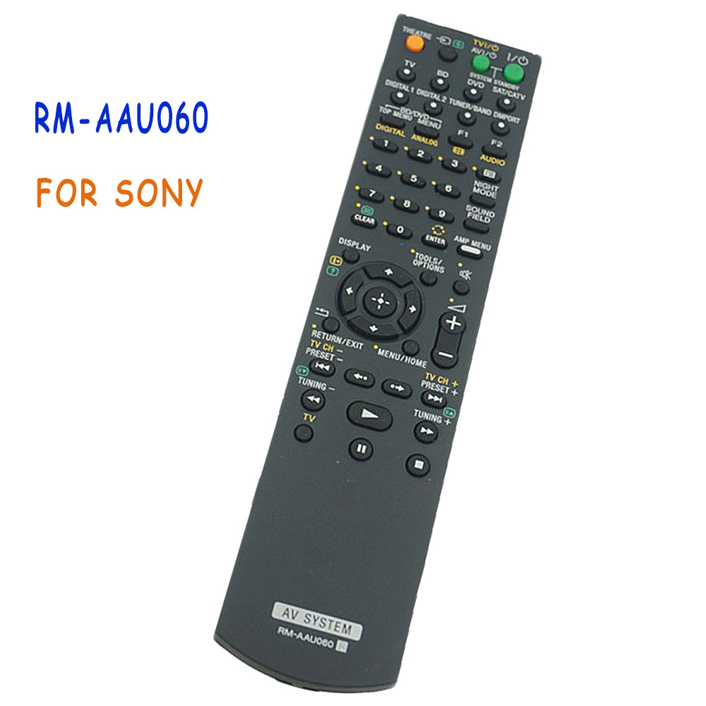 New Replacement Remote Control RM-AAU060 For Sony RMAAU060 Home Theater Audio/Video HT-FS3 SA-WFS3 SS-IS15 HT-SS360 Controle