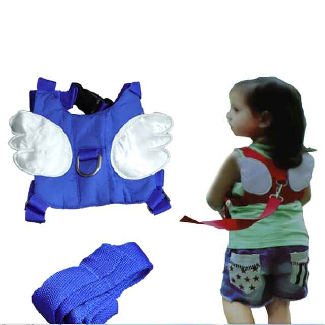 New Toddler Anti Lost Backpack Harness With Angel Wings Baby Walker