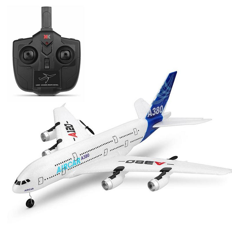 Image 3 - RC Air passenger aircraft A380 Airplane 2.4G 3CH Simulation EPP Fixed Wing Remote Control Aircraft Outdoor RC Plane Toys-in RC Airplanes from Toys & Hobbies