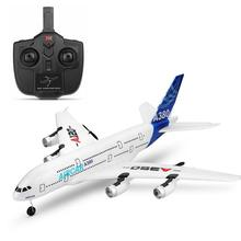 RC Air passenger aircraft A380 Airplane 2.4G 3CH Simulation EPP Fixed Wing Remote Control Aircraft Outdoor RC Plane Toys 2017 new big fixed wing rc glider fx818 2 4g 4ch 48cm up to 200m epp material 25 40min anti fall rc plane aircraft toy vs f939