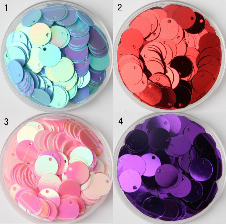 150 pcs, PVC bulk sequins DIY clothing footwear accessories stage costume jewelry accessories