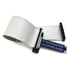 Raspberry Pi 40pin GPIO Extension Board + 40 Pin GPIO Kabel Adapter Buchse auf Buchse kompatibel für Orange Pi Banana pi