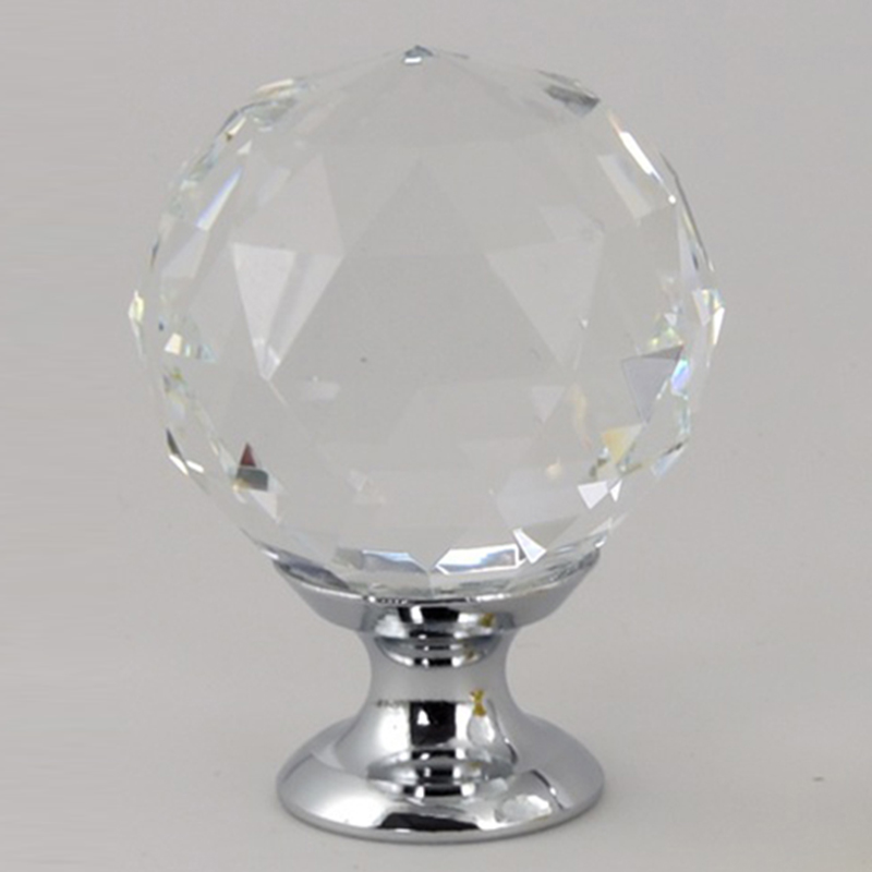 Crystal glass dril Kitchen Drawer Cabinet Door Handle Furniture Knobs Hardware Cupboard Antique Brass Shell Pull Handles 16x 40mm clear diamond crystal glass door knobs drawer cabinet furniture kitchen