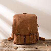 Винтаж Пояса из натуральной кожи рюкзак mochilas escolares para adolescente meninas 14 дюйм(ов) рюкзак для ноутбука школьный для женщин Человек сумка