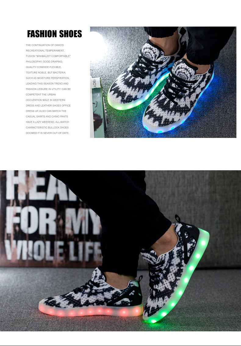 Led Sneakers Honeycomb 4
