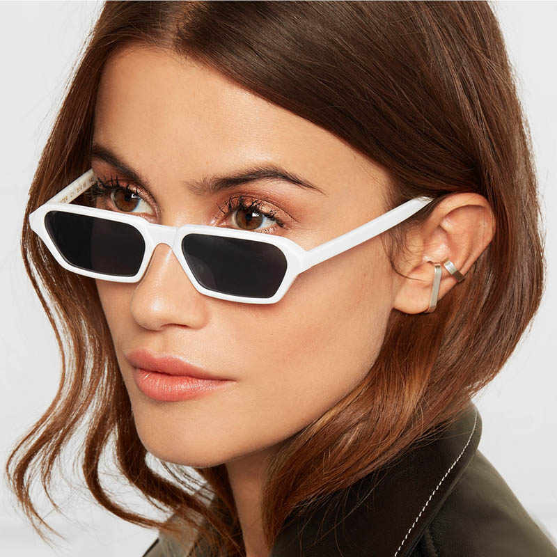 2aa0852edb8 Women Oculos Sunglasses Feminino Man 2019 Trending Products Gigi Hadid Sun  Glasses Men Narrow Small Shades
