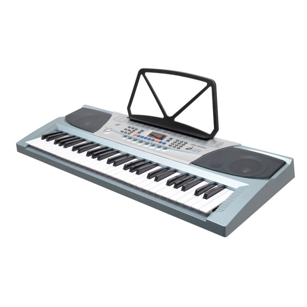 54 Keys Electronic Piano Keyboard 100 Timbres 100 Rhythms Electronic Organ LED Display Two Teaching Methods Electric Piano