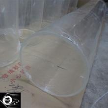 2 шт. OD600x6x1000mm акриловое большое литье прозрачная труба домашний декор пластиковая ПММА водопроводная труба и аквариум может отрезать любой размер