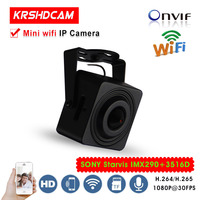 Mini IP Camera Sony Starvis 2MP Pinhole 3 7mm Lens 1080P Wifi CCTV Network Cam Support