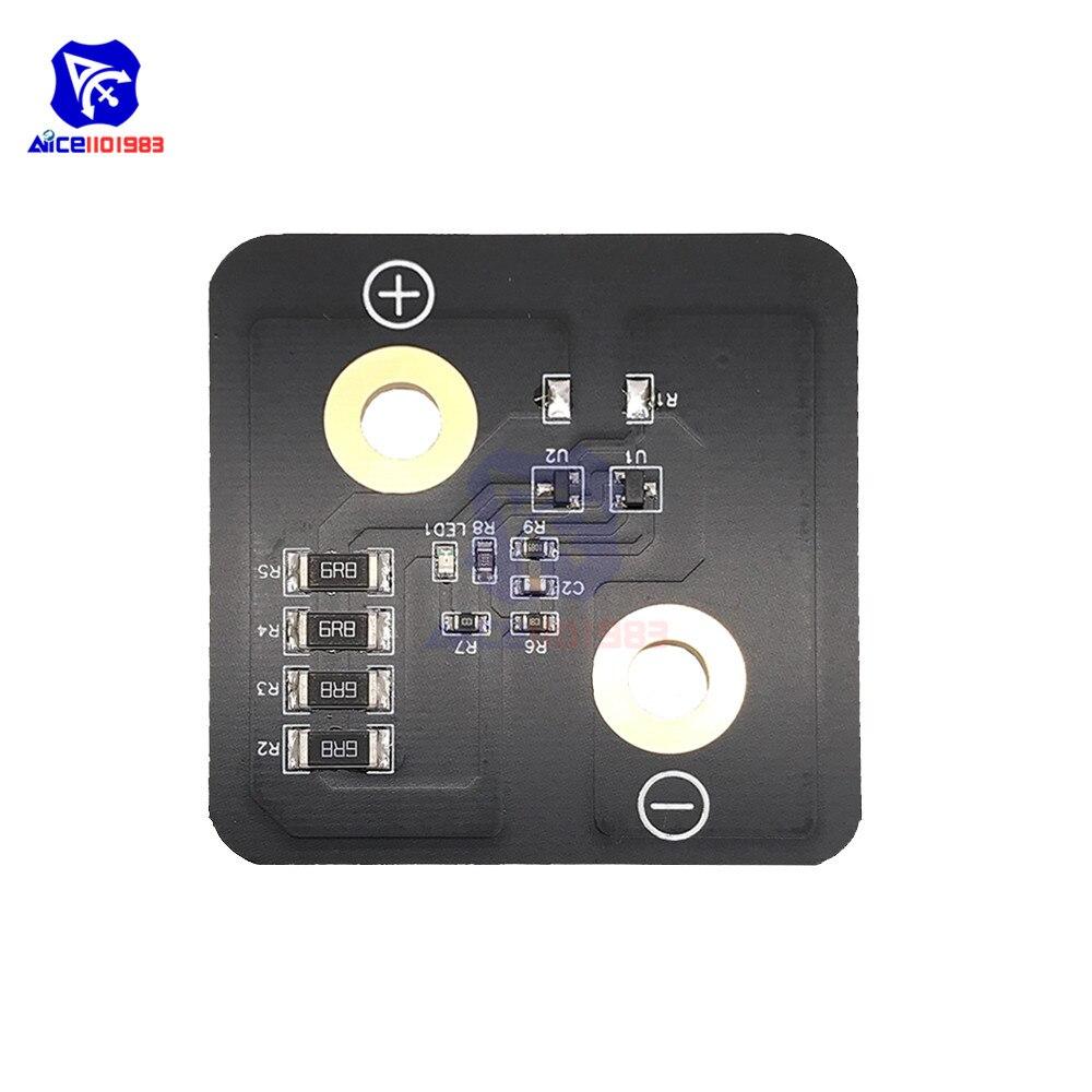 2,8 V 3000F Super condensador de faradio 5,4*5,4 cm tablero de equilibrio Super condensador regulador de voltaje tablero de protección