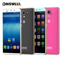 Kingzone N5 5 pulgadas 4G Smartphone teléfono Celular Android 5.1 MTK6735 LTPS1280x720 Quad-Core bits teléfono móvil 2 GB de RAM 16 GB ROM 13MP
