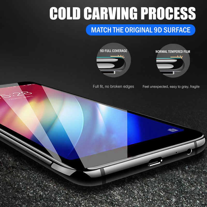 9D واقي للشاشة من الزجاج المقسى لـ Sasmung Galaxy A10 A20 A30 A40 A50 A60 A70 A80 A90 M10 M20 M30 M40 زجاج واقي الفيلم