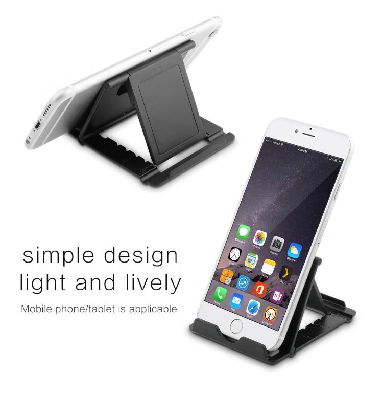 Rocketek Regulowany Składany Telefon komórkowy Tablet Biurko Stojak Uchwyt Smartphone Uchwyt Telefonu komórkowego dla iPad Samsung iPhone 2