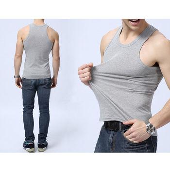 New Fashion Men Muscle Sleeveless Slim Tee Shirt Tank Top Bodybuilding Fitness Vest Stylish Mens Skinny Tank Tops 2