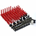 Free Shipping Motorcycle Sportbike Fairing Bolt Kit Body Fasteners Clips Screws For  ducadi 848 1098 1198 1199  1300