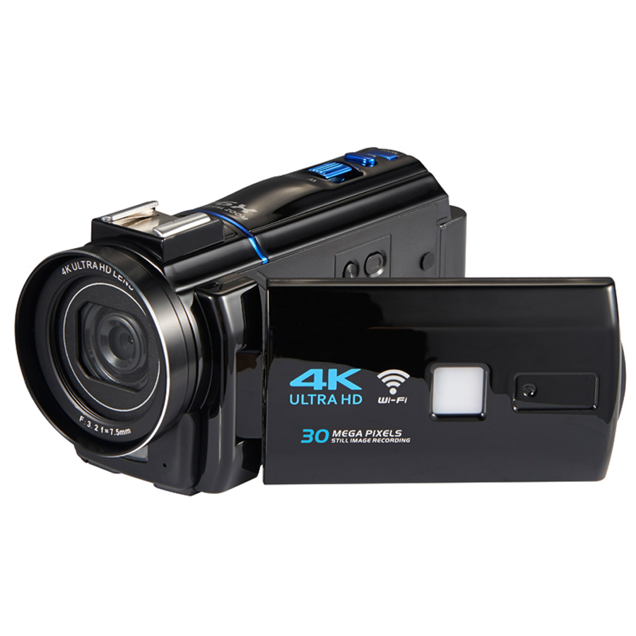 Winait 30MP super 4 K caméra vidéo numérique avec écran tactile 3.0 ''et caméscope numérique à zoom numérique 16x