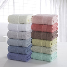 100% Cotton Towel Sets Towels for Adults Luxury Brand High Quality Soft Face Towels 70x140cm цена