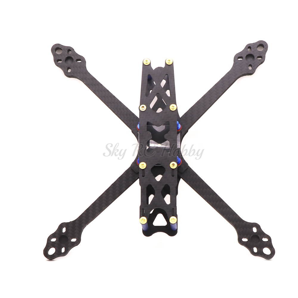 ohnny 2 5inch X5 227mm wheelbase 227 with 5mm Arm Carbon Fiber X type FPV Quadcopter frame (8)
