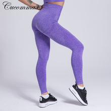 Cucommax Seamless Yoga Pants  High Waist Workout Women Leggings Panties Push Up Fitness