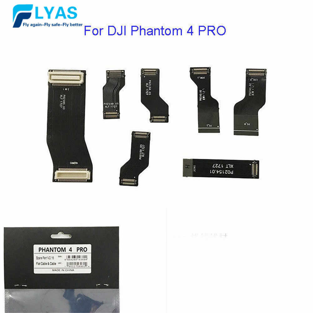 Genuine Spare Part 16 Flat Cable & Cable Flex for DJI Phantom Pro 4 Drone Body Wire Repair Parts In Stock