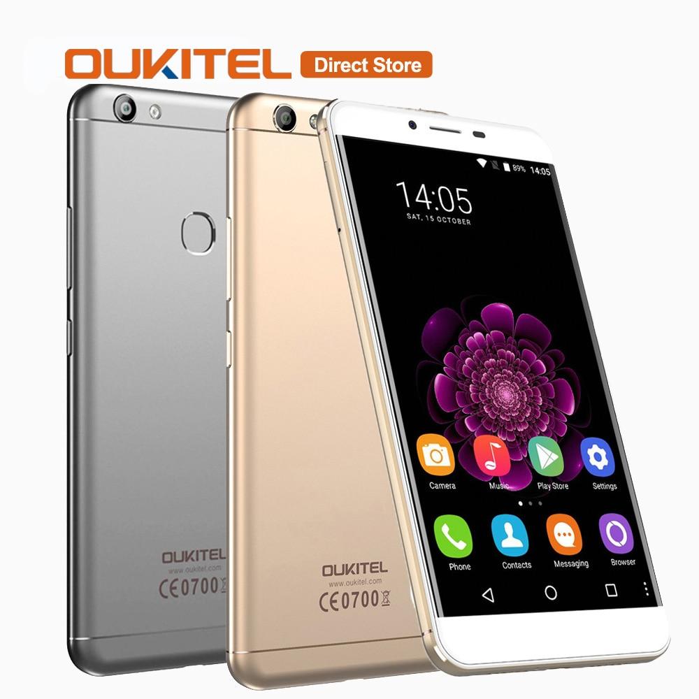 Цена за OUKITEL U15S 4 Г Смартфон Android 6.0 MTK6750T Octa Core 4 ГБ + 32 ГБ 16.0MP + 8.0MP 5.5 дюймов 1080 * 1920px Отпечатков Пальцев Мобильный Телефон