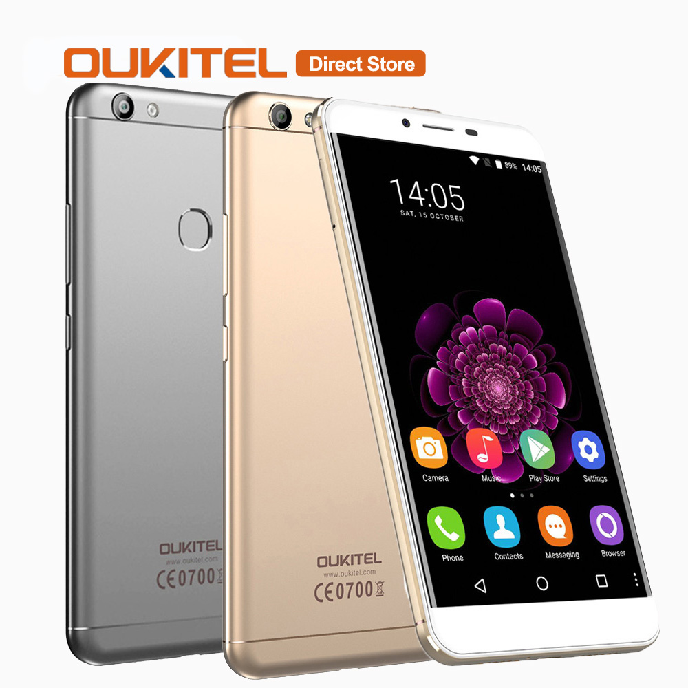 "bilder für OUKITEL U15S 4G LTE Smartphone Android 6.0 MTK6750T Octa-core 4 GB RAM 32 GB ROM 5,5 ""zoll 1080 * 1920px Fingerabdruck Handy"