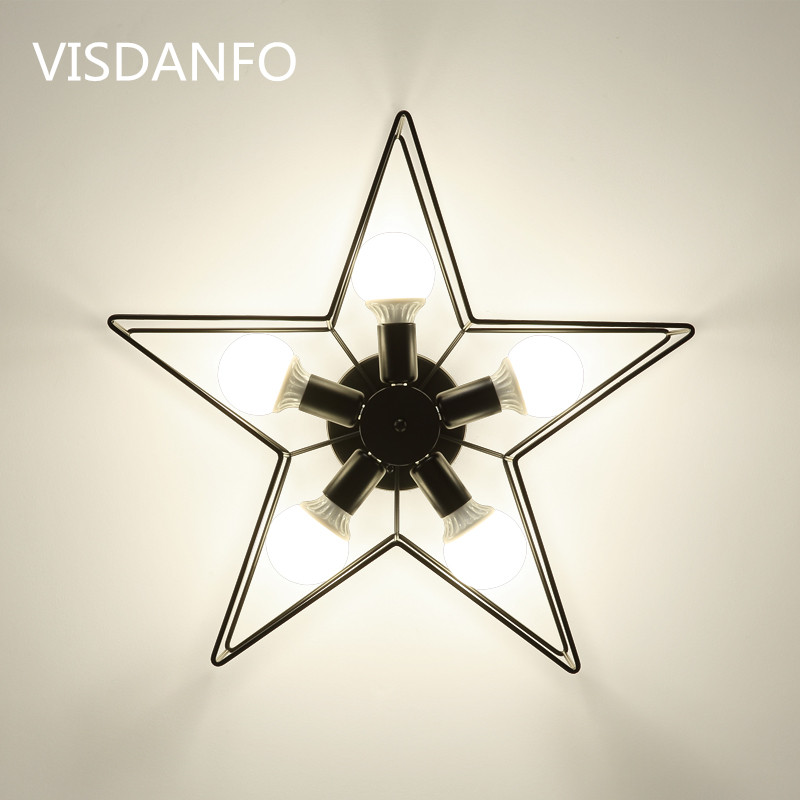 Nordic creative personality living room Led Ceiling Lamp modern minimalist study bedroom restaurant iron art Ceiling LightsNordic creative personality living room Led Ceiling Lamp modern minimalist study bedroom restaurant iron art Ceiling Lights