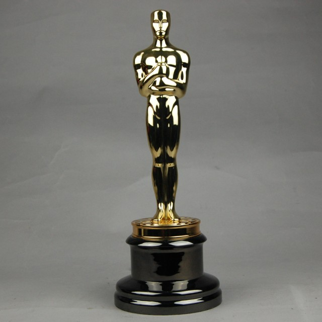 Replica Oscar Trophy Award Metal Scale Inches Music Tv Movie Souvenirs Free