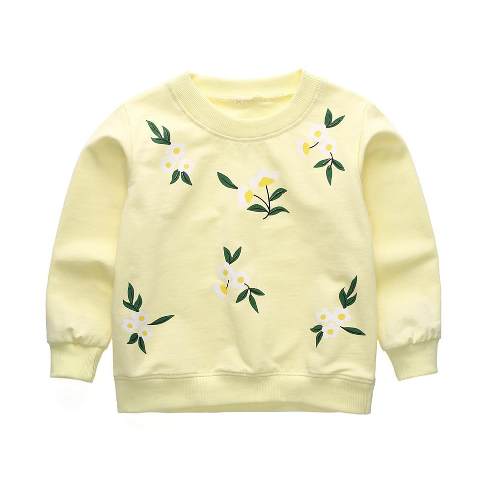 55b818f97 R Z Baby Girls Clothing 2018 Korean Spring Cotton Tops Long Sleeved ...