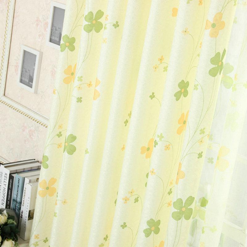 Fenster Vorhang Für Wohnzimmer Floral Vorhangküche Vorhänge
