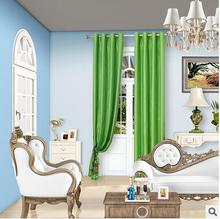 Solid Color Blackout Curtain for the Livingroom Polyester Modern Curtain for Bedroom Window Curtains Blinds Custom Made