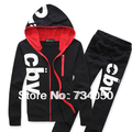 Homem sportswear 2013 outono NOVA terno de trilha dos homens de roupas hoodies ternos tracksuits camisolas masculinos para homens hoodies hip hop