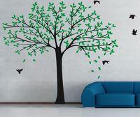 Papel de parede Tamanho Grande Família Photo Frame Árvore Adesivos de Parede Adesivos de Vinil Decoração Da Casa Sala de estar Do Quarto Do Bebê Decalques D815