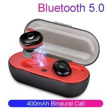Draadloze Bluetooth Headset Stereo Oordopjes Bluetooth Oortelefoon voor iphone xiaomi Samsung TWS Draadloze Hoofdtelefoon met Opladen Doos