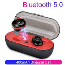 Wireless Bluetooth Headset Stereo Earbuds Bluetooth Earphone for iphone xiaomi  Samsung TWS Wireless Headphone with Charging Box