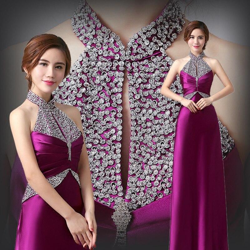 women dress annual meeting of the new fashion elegant dresses the host party performance dress female long christmas dress