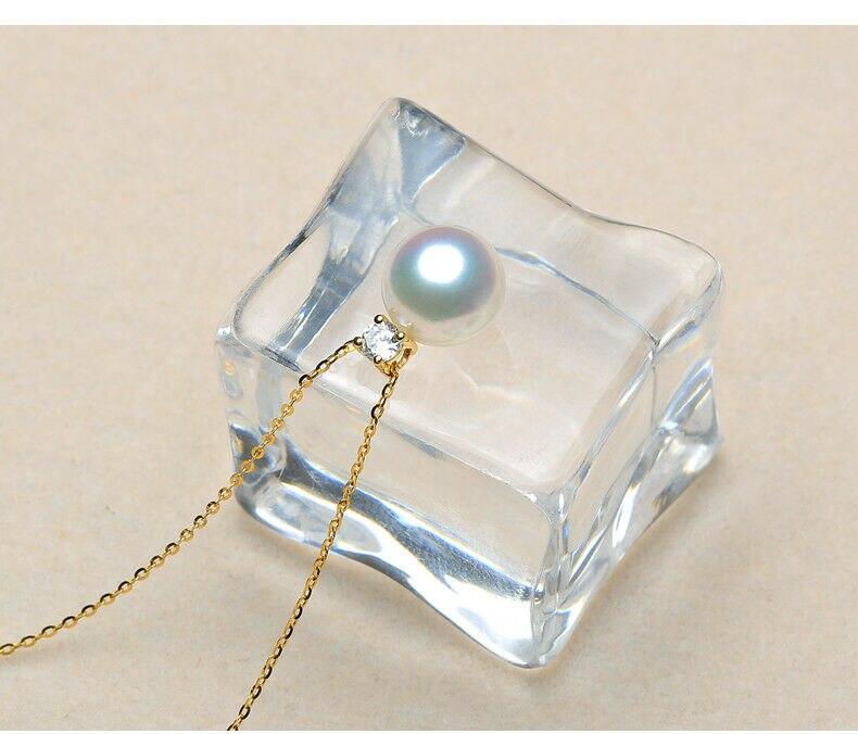 elegant AAA10-11mm south sea round white pearl necklace 18inch 18kelegant AAA10-11mm south sea round white pearl necklace 18inch 18k