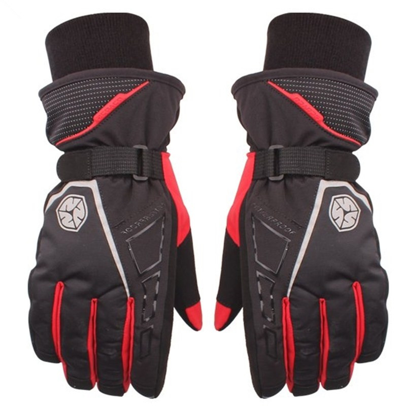 2016 Brand Motorcycle Gloves Racing Waterproof Windproof Winter Warm Cycling Bicycle Motocross off road Racing Protective