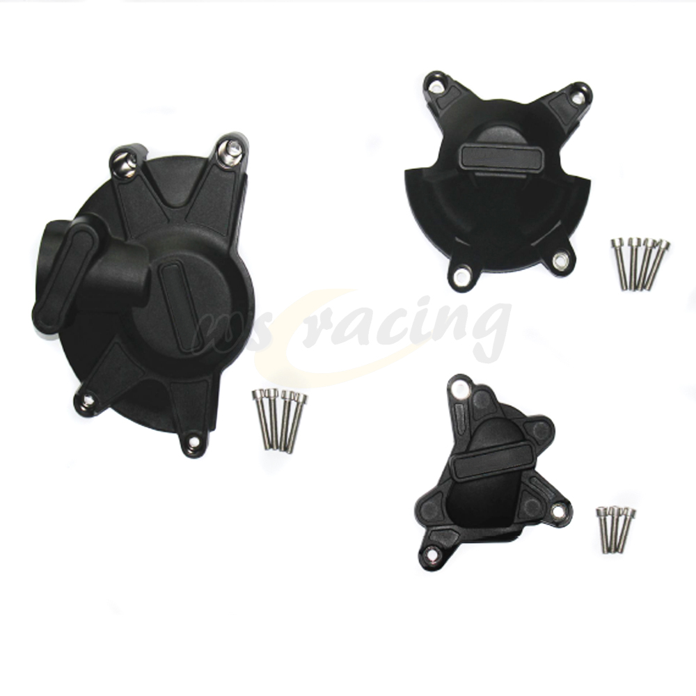 Мотоцикл черный Чехол защитная Крышка двигателя набор Комплект для Ямаха YZF R1 и YZF-R1 в 2009-2014 09 10 11 12 13 14