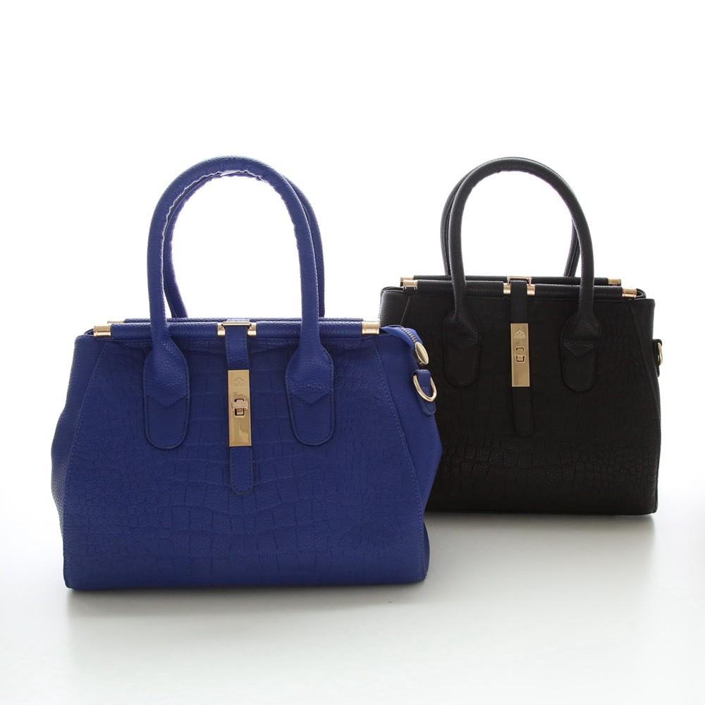 Alligator Women Bag Metal Lock Top-handle Bags Messenger Bags High Quality PU Leather Handbags Shoulder Bags Tote Herald Fashion (1)