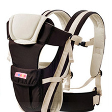 Baby Carrier Kids Kangaroo Cotton Carrying Children Baby Ring Front Backpack Sling Wrap Hip Seat -- 05MKD014 PT49