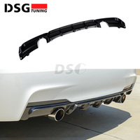 Rear Bumpers Diffuser for BMW 3 Series F30 F31 M Sport Edition ABS Gloss Black/Matt Black 4 doors Back Lip 2012 +