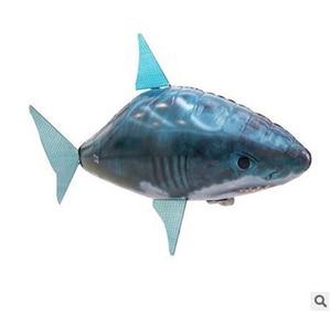 Image 4 - 1pcs אוויר שחייה דגי צעצועי Drone RC כריש דגי ליצן בלונים נמו מתנפח עם הליום מטוס צעצועי מסיבת ילדים חג המולד מתנה