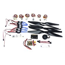 JMT RC HexaCopter Aircraft ARF Electronic:GPS APM2.8 Flight Control 350KV Brushless Motor FMT40A ESC F05423-I