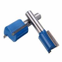 7pcs 8mm Shank Straight Dado Router Bit Set Woodworking Milling Cutter 6 8 10 12 14