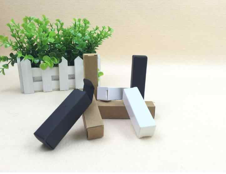free shipping 10/15ml/20ml/30ml oil dropper bottle kraft Paper Packaging Box DIY Lipstick Perfume packing box for tubes