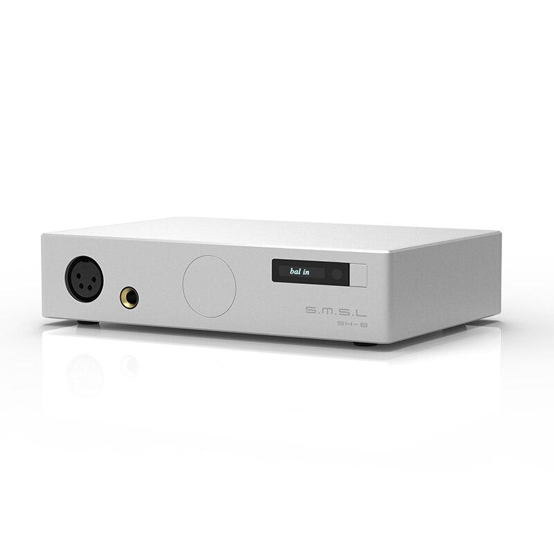 SMSL SH-8 6.35mm/Equilibrata Ad Alte Prestazioni RCA/ingresso XLR HiFi Amplificatore Per Cuffie
