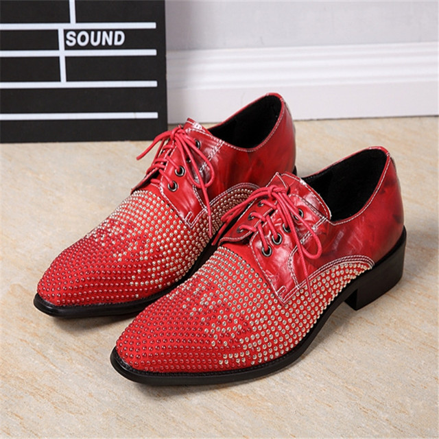 creepers rouge homme
