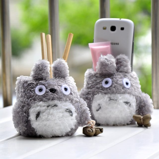 Cute Pen Holder My Neighbor Totoro Pencil Holders Desk Organizer Storage Stationery Z Office Material School Supplies