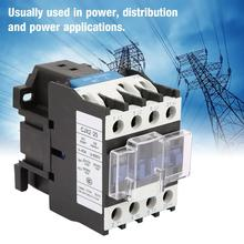 CJX2-2501 High Sensitivity AC Contactor Industrial Electric 220V 25A